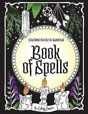 Coloring Book of Shadows : Book of Spells by Amy Cesari (2017, Paperback)