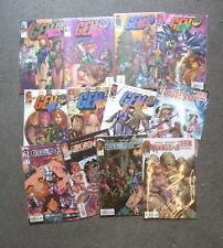 gen 13 bootleg lot 1 a 19 + annual 1 manque le 16 image comics