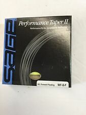 CLOSEOUT - SAGE PERFORMANCE TAPER II WF8F FLY LINE - LOT OF 5 LINES