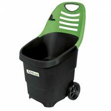 Chariot de jardin pour ramassage déchets feuilles - 65L -  PRGC65