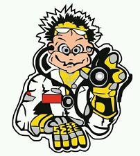 Pegatina Adhesivo Sticker Rossi Doctor MotoGP 12 CMS Aufkleber Autocollant