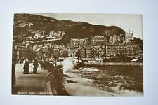 More details for vintage postcard rough sea at llandudno conwy wales unposted real photo rp