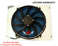 "Dodge Coronet Electric Radiator Fan 16/"" Low Profile 120W /& Relay Kit"