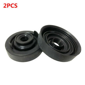 Car LED Headlight Rubber Dust Cover Bulb Extended Housing Seal Cap Kit 2Pcs 80mm