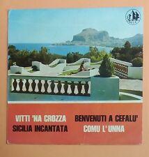 """14773 45 giri EP - 7"""" - Melo Caruso - Vitti 'na crozza; Benvenuti a Cefalù"""