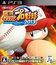 Used PS3 Jikkyo Powerful Pro Yakyu 2013 SONY PLAYSTATION 3 JAPAN JAPANESE IMPORT