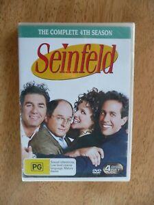 SEINFELD SEASON 4 DVD NEW/SEALED REGION 4 PAL AUS