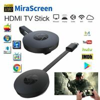 Miracast HDMI TV  Stick DLNA Airplay WiFi Dongle Receiver  1080p Media Streaming