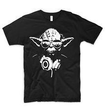 DJ Yoda Jedi T Shirt Star Wars Ibiza Party Festival Hip Hop Rap Techno Disco