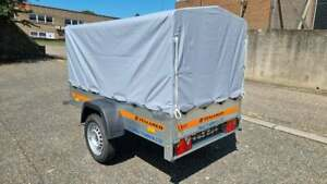 NEW CAMPING TRAILER BRAND NEW SINGLE AXLE 6'7 x 3'6 750kg CANOPY H 80 cm