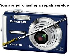 OLYMPUS Fe-340 Repair Service for your Digital Camera-60 Day Warranty