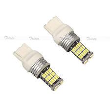 2× 45 SMD LED Bulb Car Auto White Reverse Light T20 7440 7443 CANBUS #B9