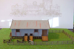 Ho Scale Wangaratta Shearers shed and fencing KIT