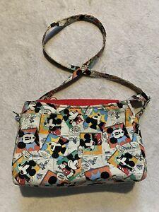 Disney Comic Mickey Mouse Crossbody Passport Bag, Y2K Vintage 2000s