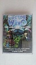 Doctor Who The Genocide Machine  (2 x Cassette-Audio, 2000)- Sylvester McCoy