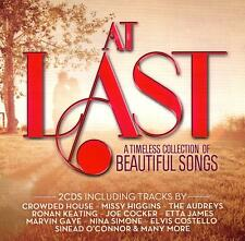 AT LAST - A TIMELESS COLLECTION OF BEAUTIFUL SONGS /VARIOUS ARTISTS - 2 CD SET