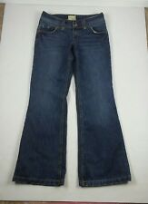 Maurices Premium Womens Jeans Size 7/8 Wide Boot Cut Inseam 33