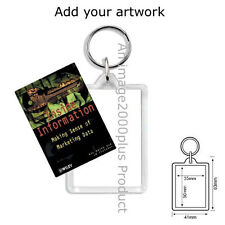 Acrylic Rectangle Hobbies & Crafts Collectable Keyrings
