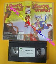 VHS film IL GATTO CON GLI STIVALI animazione 2000 CVC STLC7018 (F126) no dvd