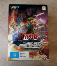 Nintendo Wii U Hyrule Warrior Limited Edition (PAL AU) - bundled with US game