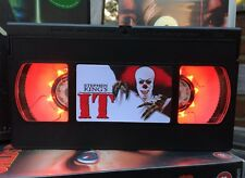IT Clown, Horror, Retro VHS Night Light, Desk Lamp, Led, Bedroom Lamp, TV, Kids
