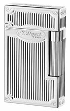 S.T. Dupont Ligne 2 Lighter, Palladium Arabesque, 16622 (ST016622), New In Box