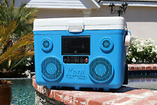 Koolmax Tunes2Go 40 Quart Cooler w Stereo and Bluetooth Audio Speakers: CA-E065A