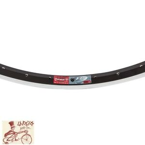 "WEINMANN 519  36H---24"" x 1.75 BLACK BICYCLE RIM"