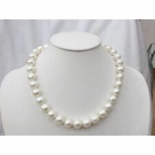 Freshwater Pearl Necklace (White, AAA, 8-9 mm, 17 inch)