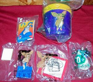 Taco Bell Toys Chihuahua Bongo Drum Photo Frame Notes The Tick Batman Mr. Freeze