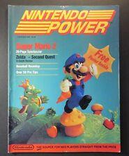 1988 Nintendo Power Magazine First Issue #1 NES Super Mario No Poster Nice Cover