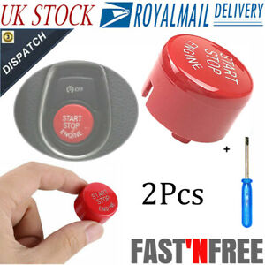 Push Start Stop Button Gloss Red For BMW F 1-7 Series M2 M3 M4 M140i F20 F80 NEW