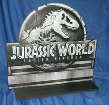 JURASSIC WORLD / PARK  Universal Studios Theme Park Prop ~Sign & Stand (Movie)