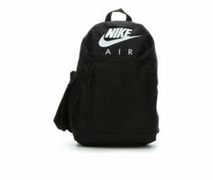 Nike Air Sportswear Elemental Backpack Bag UNISEX BLACK BA6032-010 NWT
