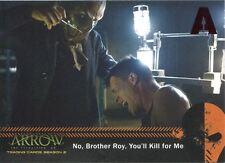 Arrow Season 2 Red Foil Parallel Mirakuru Chase Card U4 No, Brother Roy, You?ll