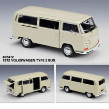 Welly 1:24 Scale Volkswagen 1972 T2 Bus VW Car Model Kid Toy Gift For Collection