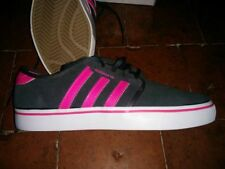 ADIDAS TRAINERS NAVY & PINK 5.5 - BRAND NEW