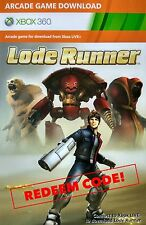 Xbox 360/ONE Lode Runner Full Game DOWNLOAD INSTANT DELIVERY!!!
