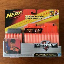 NERF N-STRIKE TOY darts x30 WITH flip clip refill - RAIDER RECON LONGSTRIKE CS-6