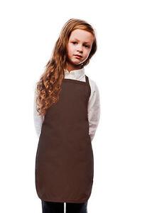 Daystar Aprons 1 Style 250NP Children's No pocket kids bib apron ~ Made in USA