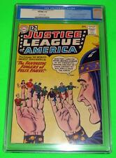 1962 JUSTICE LEAGUE OF AMERICA #10 CGC 9.0 Off-White VF/NM Vintage Label