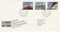 25 MAY 1983 ENGINEERING ACHIEVEMENTS ROYAL MAIL FIRST DAY COVER BUREAU SHS (b)