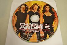 Charlie's Angels: Full Throttle (DVD, 2003)Disc Only Free Shipping