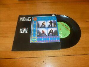 """DESIRE - Endgames - 1983 UK 2-track 7"""" vinyl single"""