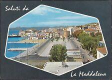 AD5422 Saluti da La Maddalena (SS) - Veduta - Cartolina postale - Postcard