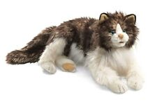 Ragdoll Cat Puppet with Movable Mouth, Folkmanis MPN 2558, 3 & Up, Boys & Girls