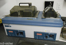 Fisher Scientific Isotemp 215 Dual Chamber Digital Water Bath Cat 14 462 15