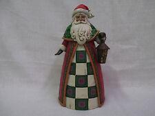 Jim Shore The Light Of Christmas Santa Holding Lantern Classic Figurine 4034362