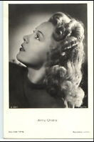 ~ 1950/60 Porträt-AK Film Bühne Theater Schauspielerin ANNY ONDRA Foto-Verlag