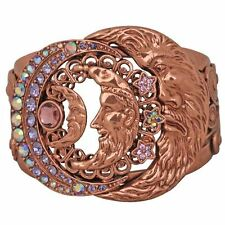 NEW KIRKS FOLLY FACES OF THE MOON CUFF BRACELET  COPPERTONE